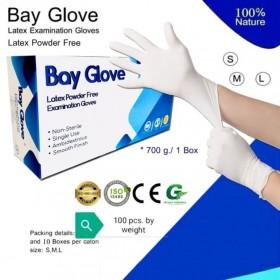 Boite de 100 gants Latex -...