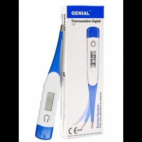Thermometre digital pointe flexible genial - carton de 100